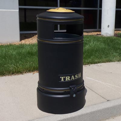 Topsy Jubilee™ 29 Gallon Trash Can