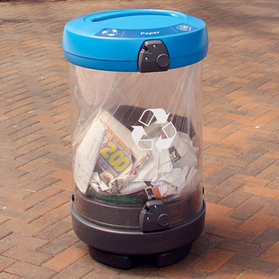 C-Thru™ Recycling Bins