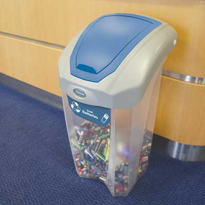 C-Thru Nexus® 8G Battery Recycling Container