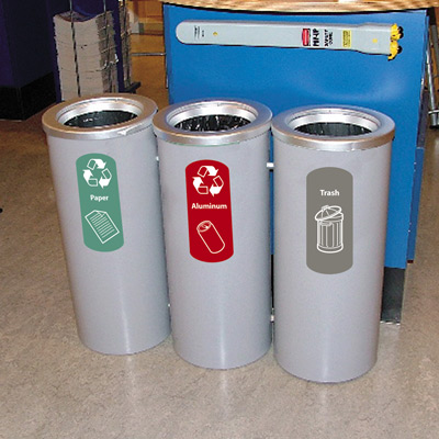 Cedar® Recycling Containers