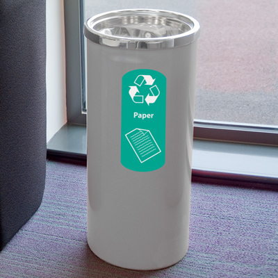 Cedar™ Paper Recycling Container
