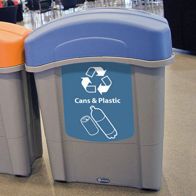 Eco Nexus® 16G Recycling Containers Blue Option