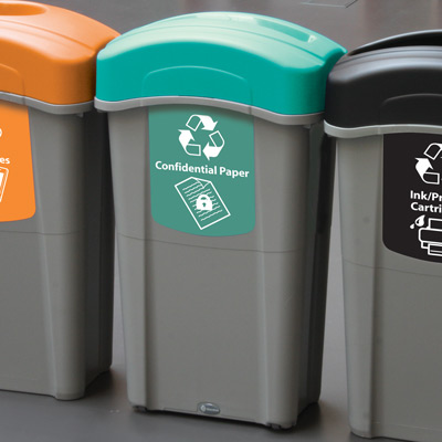 Eco Nexus® 23G Confidential Paper Recycling Container