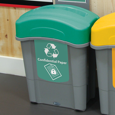 Eco Nexus® 16G Confidential Paper Recycling Container