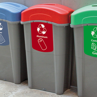 Eco Nexus® 23G Can Recycling Bin