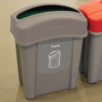 Eco Nexus® 16G Trash Recycling Container