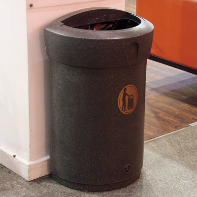 Envoy™ 24G 24 Gallon Trash Can
