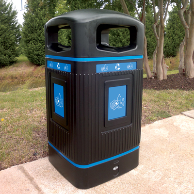 Outdoor Recycling Containers