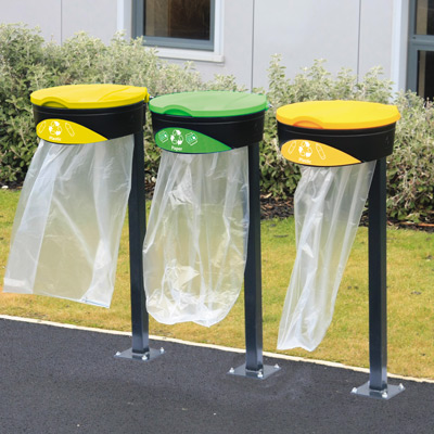 Glasdon Orbit™ Recycling Sack Holders