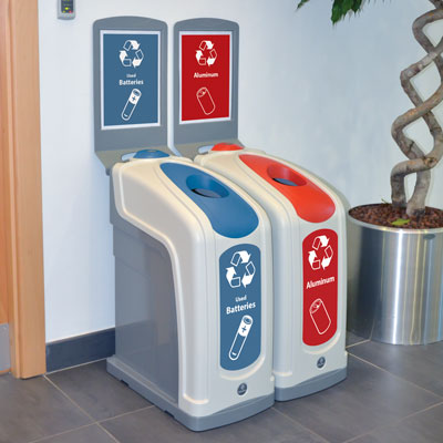 Nexus® 13G Recycling Bins
