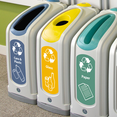 Nexus® 13G Mixed Glass Recycling Bin