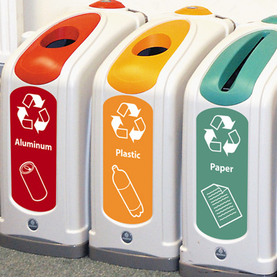 Nexus® 13G Plastic Bottle Recycling Bin