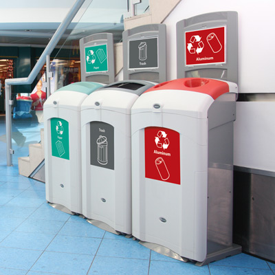 Nexus® 26G Recycling Bins