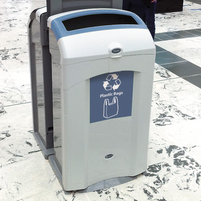 Nexus® 26G Plastic Bag Recycling Bin