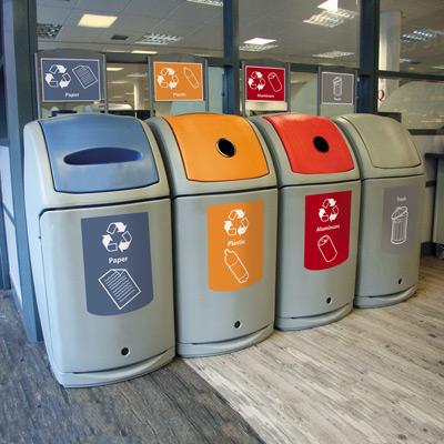 Nexus  36G Recycling Bins. Nexus  36G Trash Recycling Bin   Recycling Containers