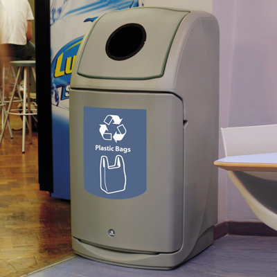 Nexus® 36G Plastic Bag Recycling Bin