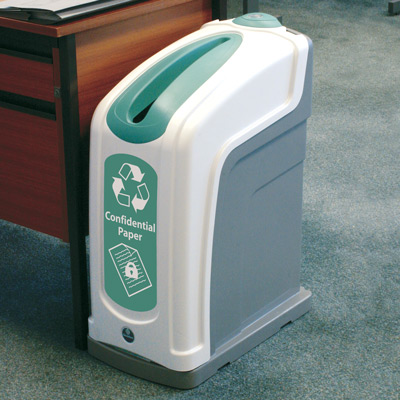 Nexus® 13G Confidential Waste Bin