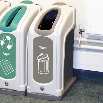 Nexus® 13G Trash Recycling Bin