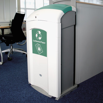 Confidential Waste Recycling Bins