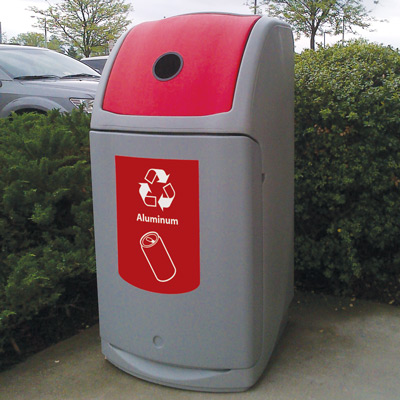 Nexus® 36G Can Recycling Bin