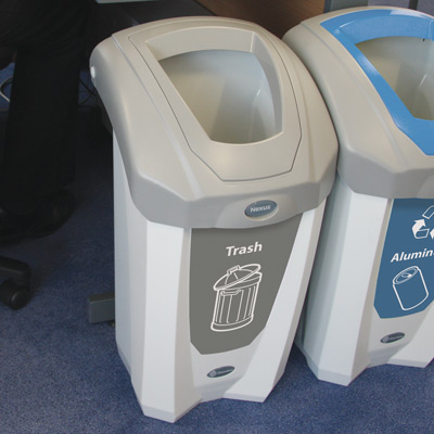 Nexus® 8G Trash Recycling Container