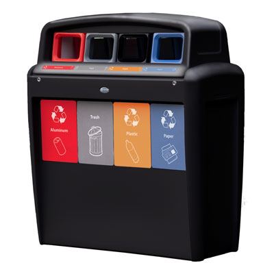 Nexus® Transform City - 40 Gallon Recycling Stations