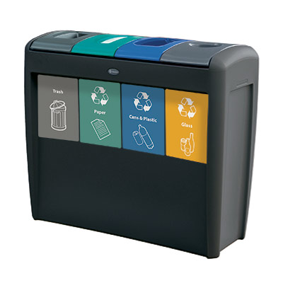 Nexus® Transform - <br>40 Gallon Recycling Stations