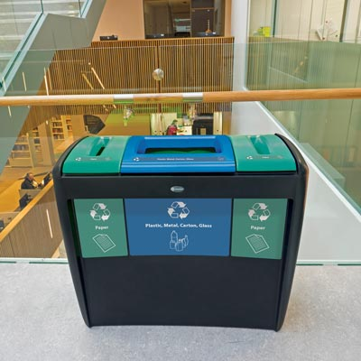 Nexus® Transform  Trio Recycling Station