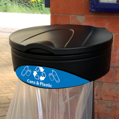 Glasdon Orbit™ Can & Plastic Recycling Bag Holder