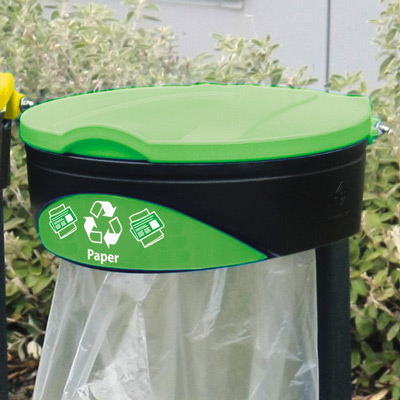 Glasdon Orbit™ Paper Recycling Bag Holder