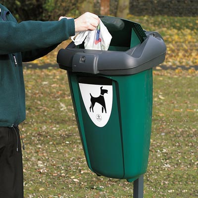 Retriever™ 13G Pet Waste Station 13 Gallon Dog Waste Bin - Variety of Fixing Options