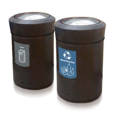 Statesman™ Trash and Recycling Combo