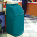 Combo™ Trash Can with Tray Top