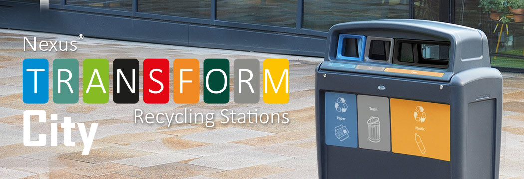 Nexus® Transform City Recycling Stations