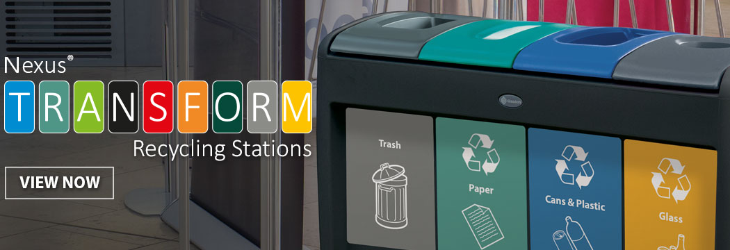 Nexus® Transform Recycling Stations